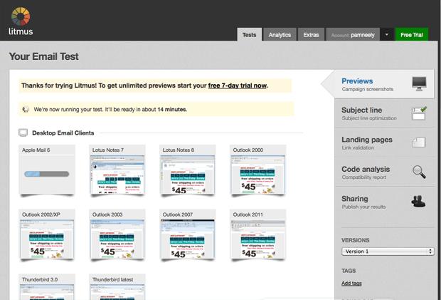 nắm bắt 25 công cụ email marketing miễn phí