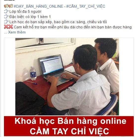 hình ảnh khóa học bán hàng online