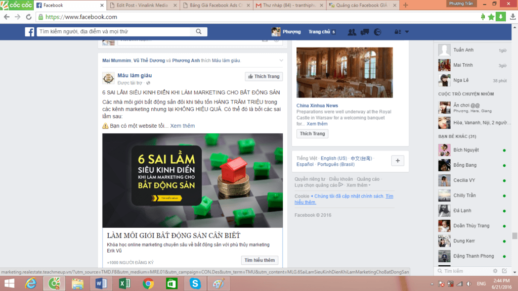 remarketing trên facebook