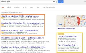 tìm kiếm khách hàng trên mạng qua Google