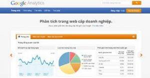 Truy cập vào Google Analytics