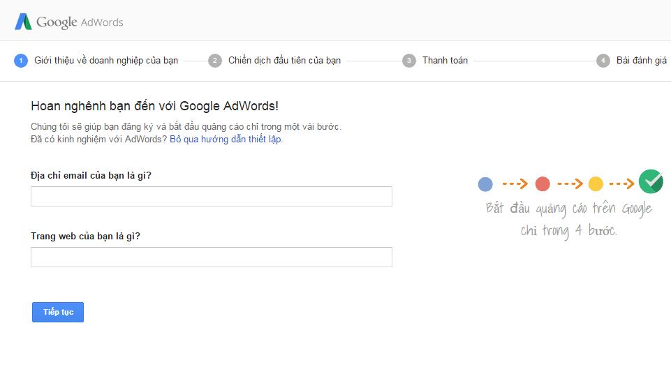 Cách tự làm quảng cáo google adwords hiệu quả